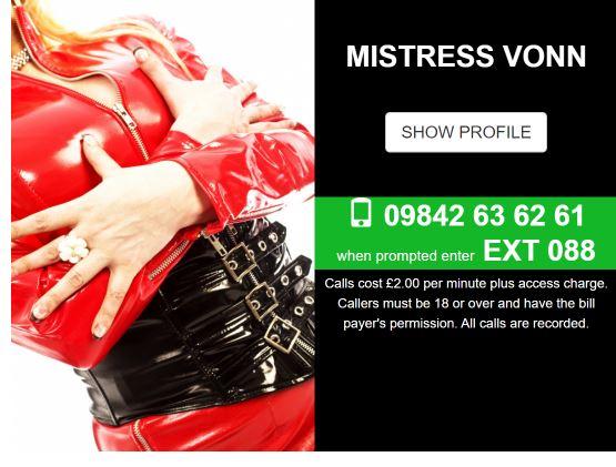 phone sex mistress